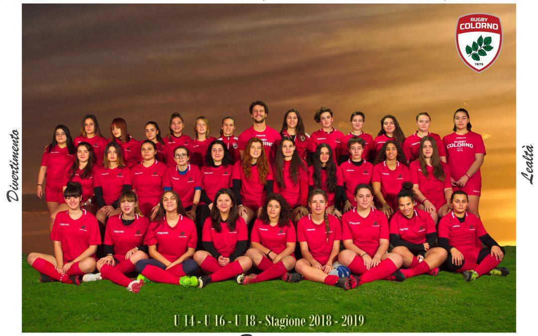 JUNIORES FEMMINILI: U14-U16-U18
